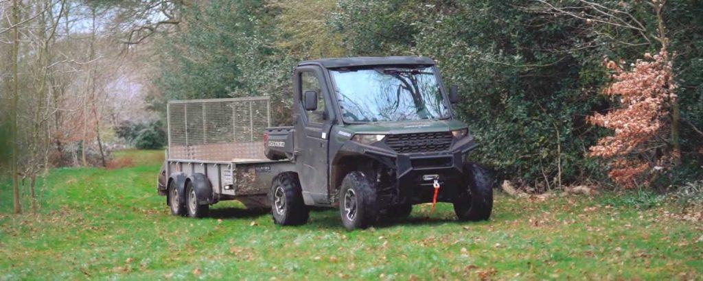 Un vehículo utilitario más ligero para el mantenimiento del suelo